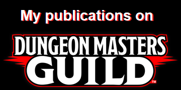 My Publications on DMsGuild.com