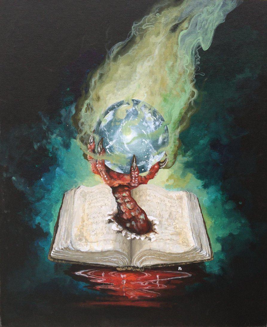 Adam Burke - Book and Crystal Ball