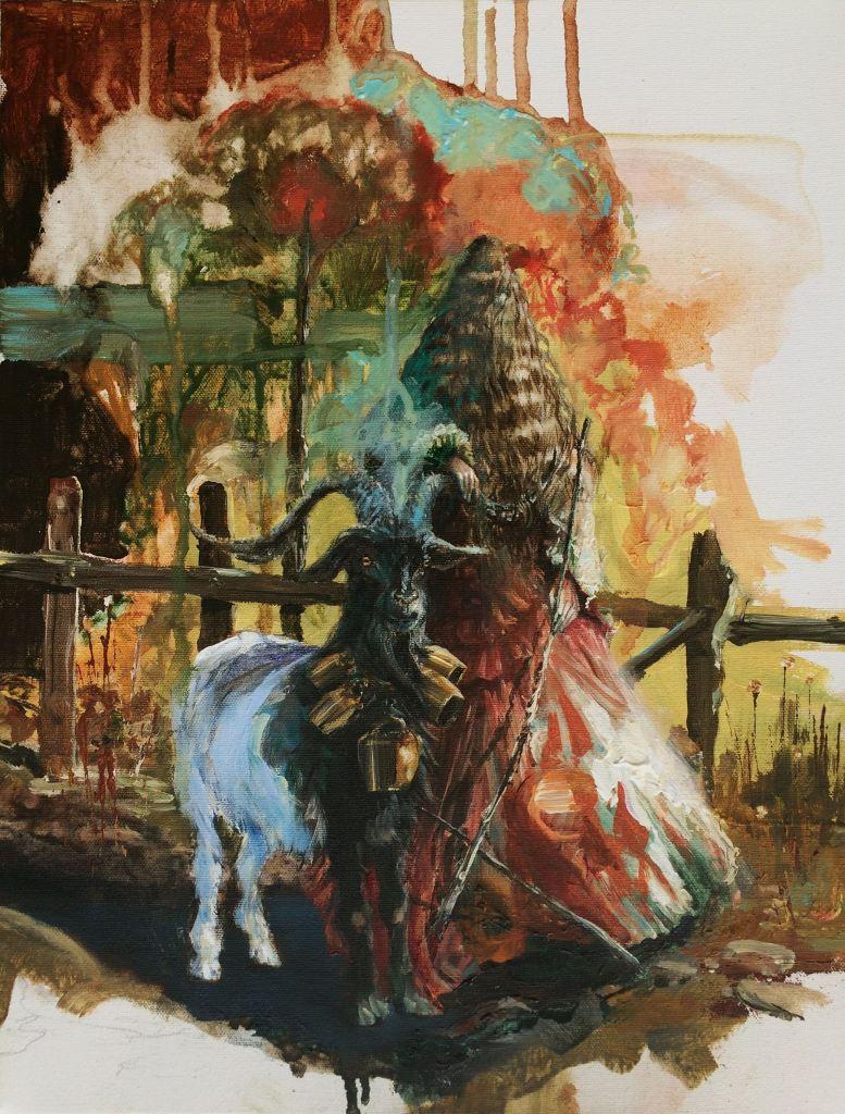 Adam Burke - Painting